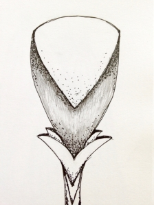 Flower sketch #8