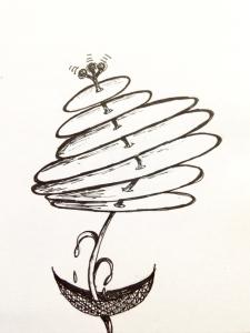 Flower sketch #7
