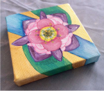 The Story of a Flower - Flower Painting
