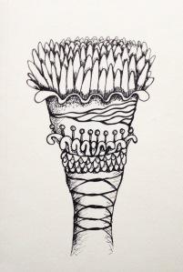 Flower sketch #41